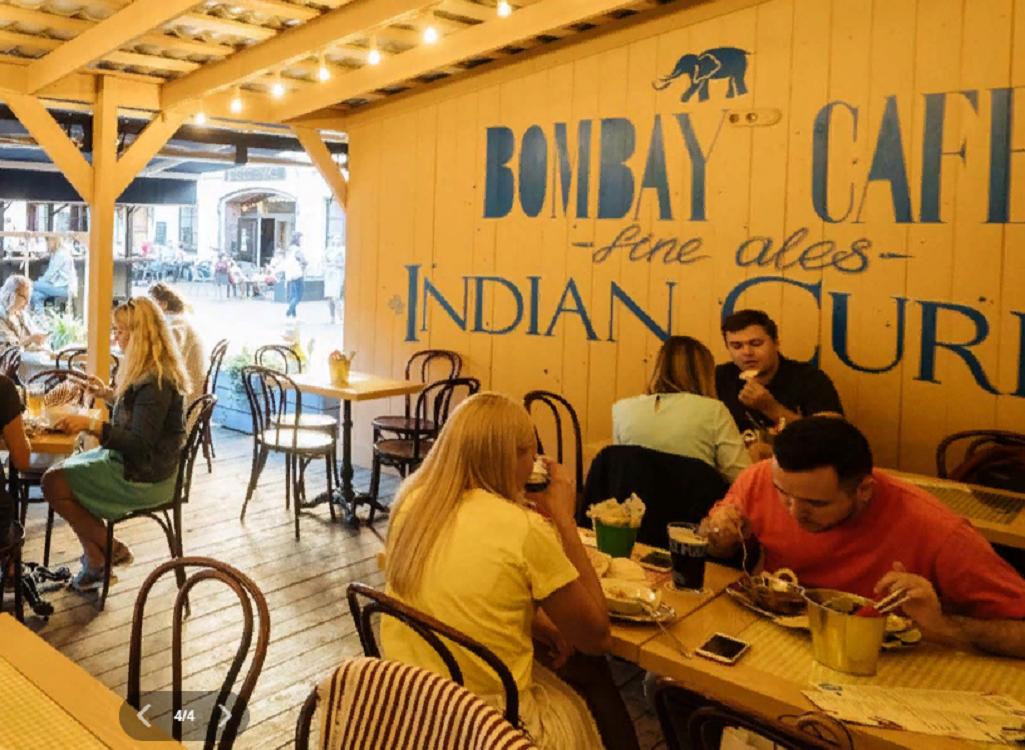 "Кафе ""Bombay Cafe"""