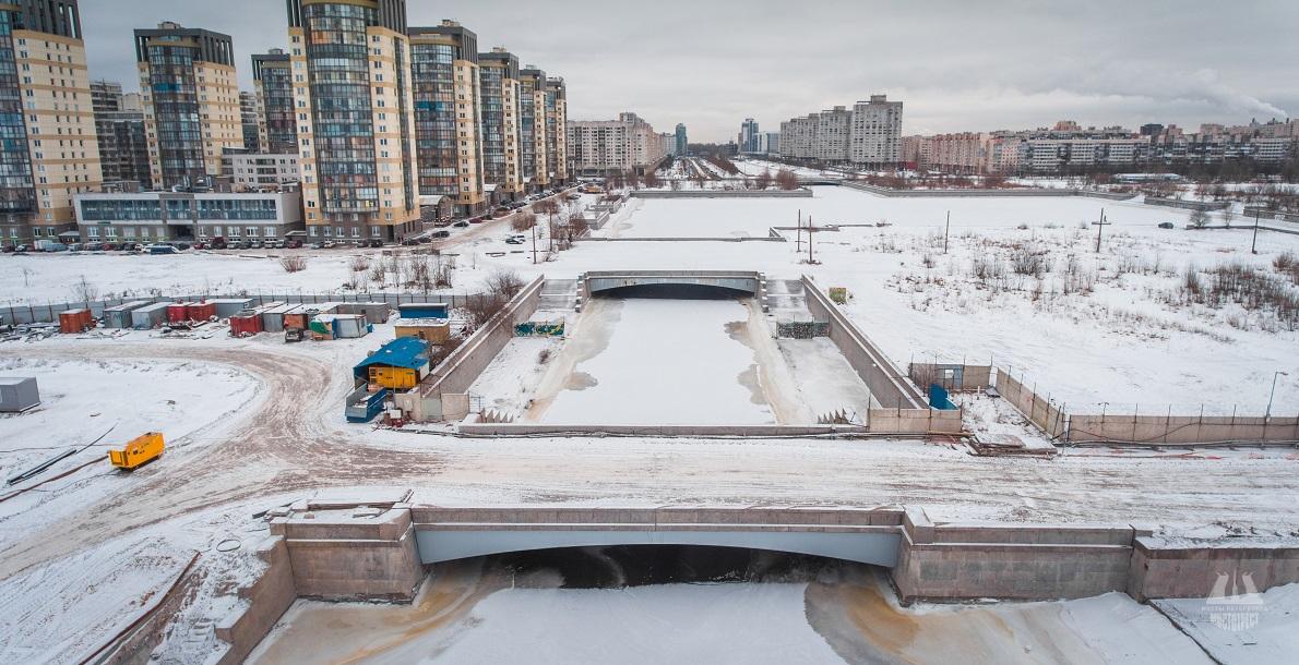 4-й Смоленский мост. Фото: Mostotrest-spb.ru