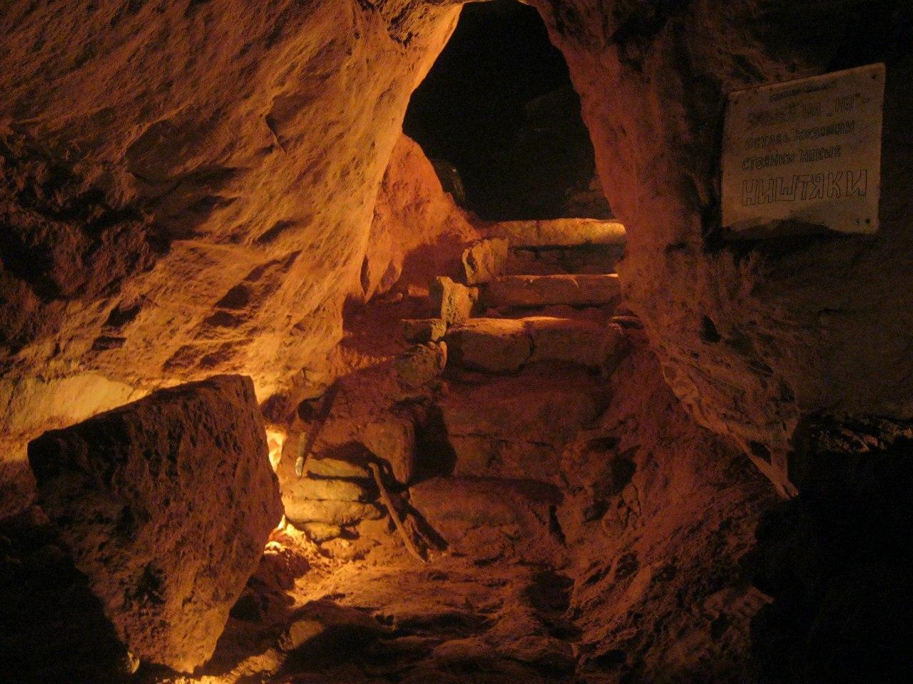 Саблинские пещеры. Фото: vk.com/club10962 Автор: Веселый Копарь