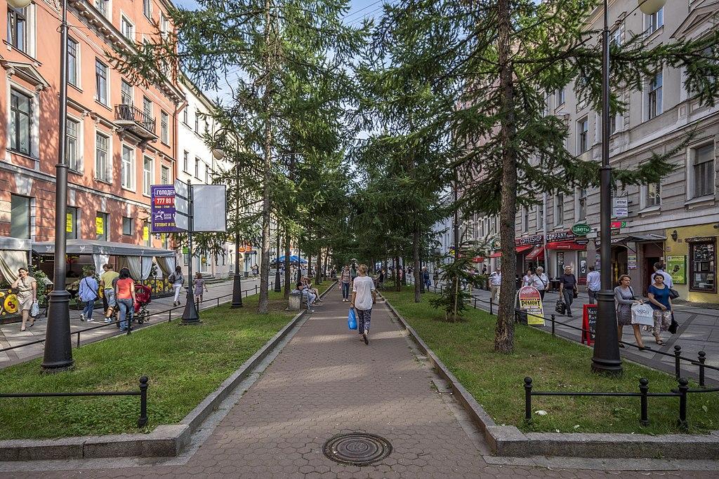 6—7-я линии Васильевского острова. Фото: Florstein   (WikiPhotoSpace)