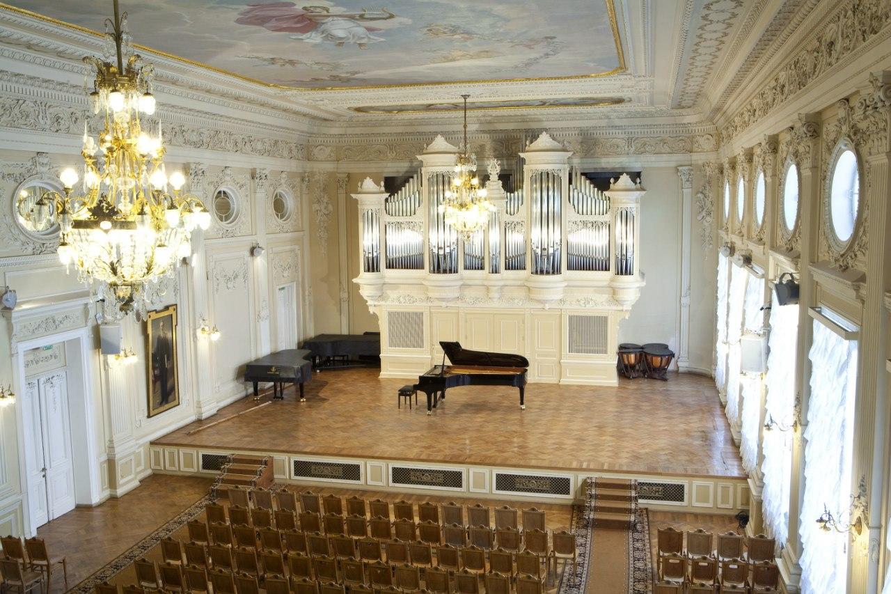 4. Малый зал Консерватории. Фото: Михаил Павлюк
