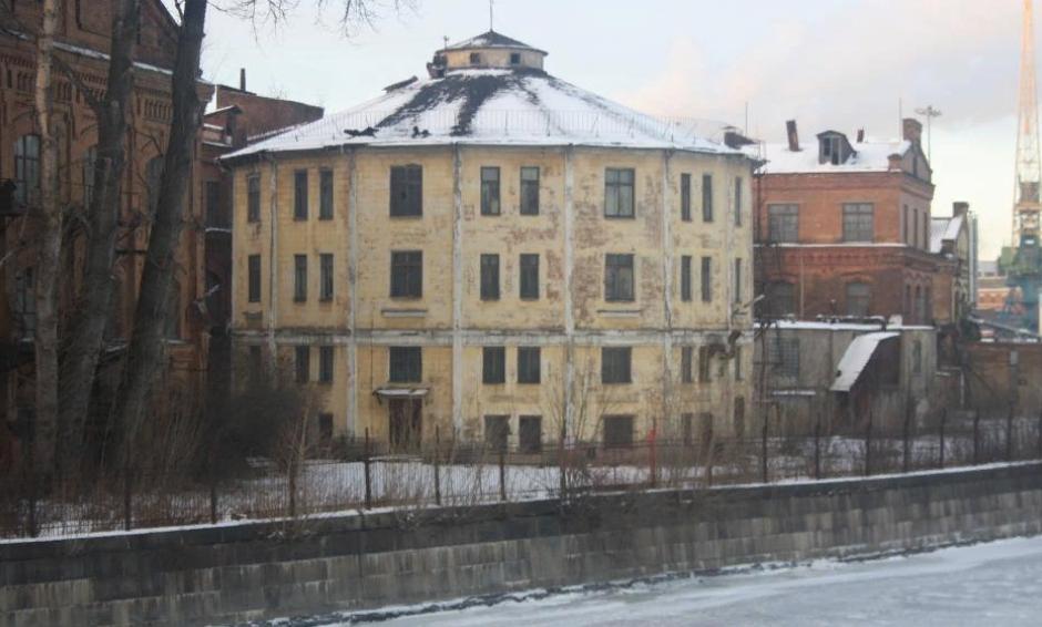 Газгольдер Спиртоочистного завода (Санкт-Петербург). Фото: anmazarin