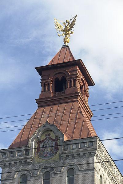 Музей Суворова (орёл на крыше). Автор: George Shuklin, Wikimedia Commons