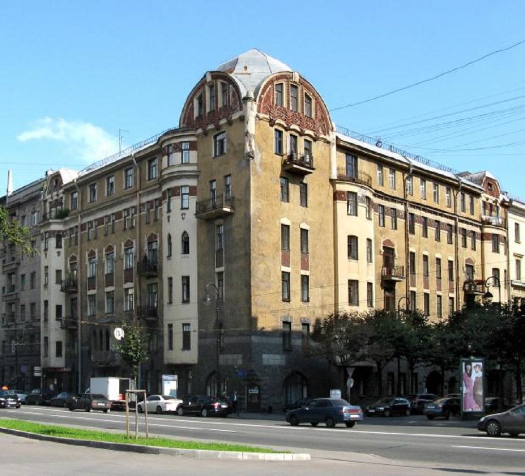 Доходный дом инженера К. В. Маркова, Санкт-Петербург, Каменноостровский пр., 67 (citywalls.ru)