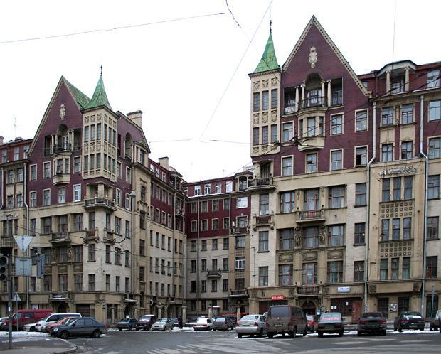 Доходный дом М. Н. Полежаева. Фото: citywalls.ru