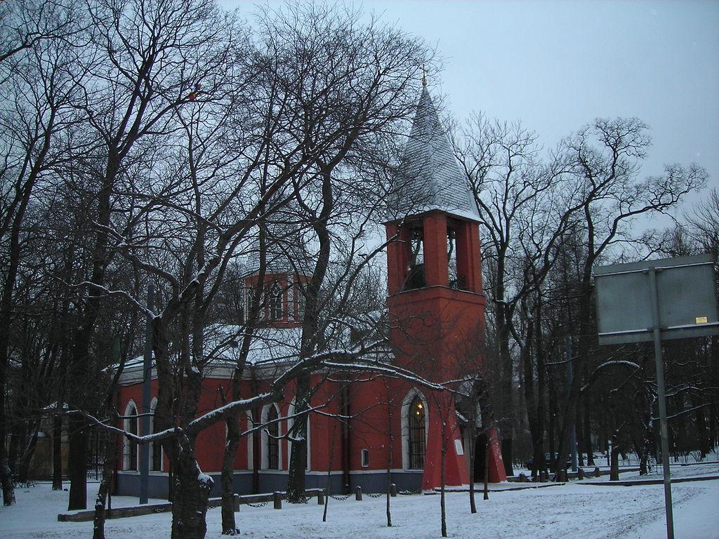 Церковь Рождества Иоанна Предтечи на Каменном острове. Автор фото: user:Medved' (Wikimedia Commons)