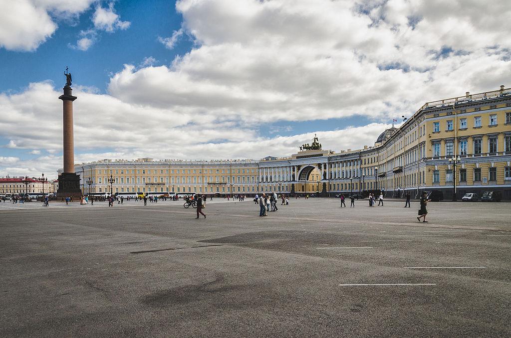 Дворцовая площадь. Фото: Skif-Kerch
