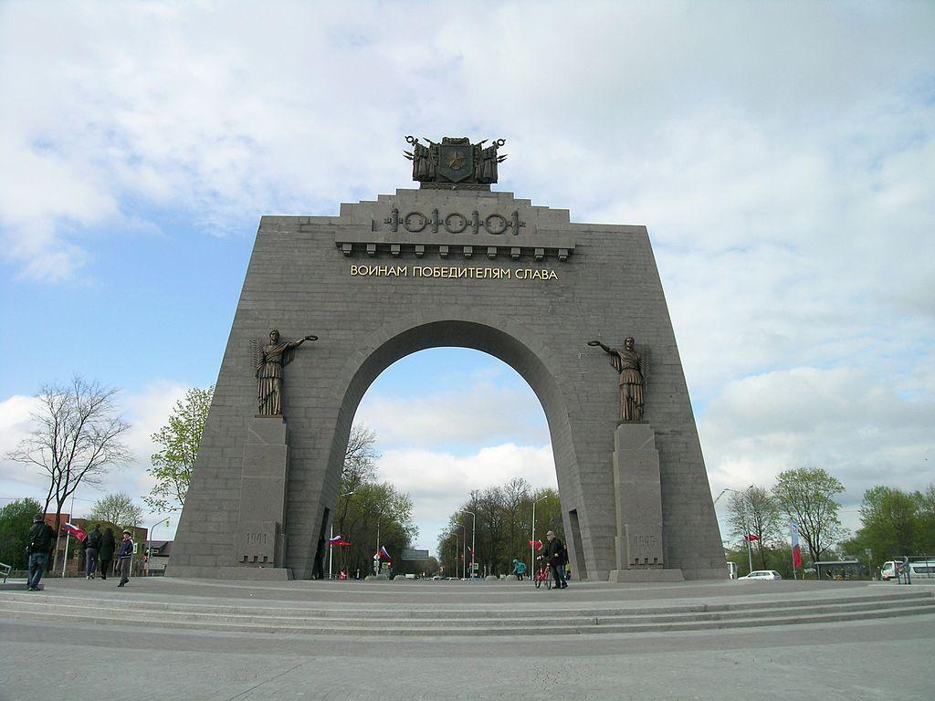 Арка Победы в Красном Селе. Фото: 13243546A