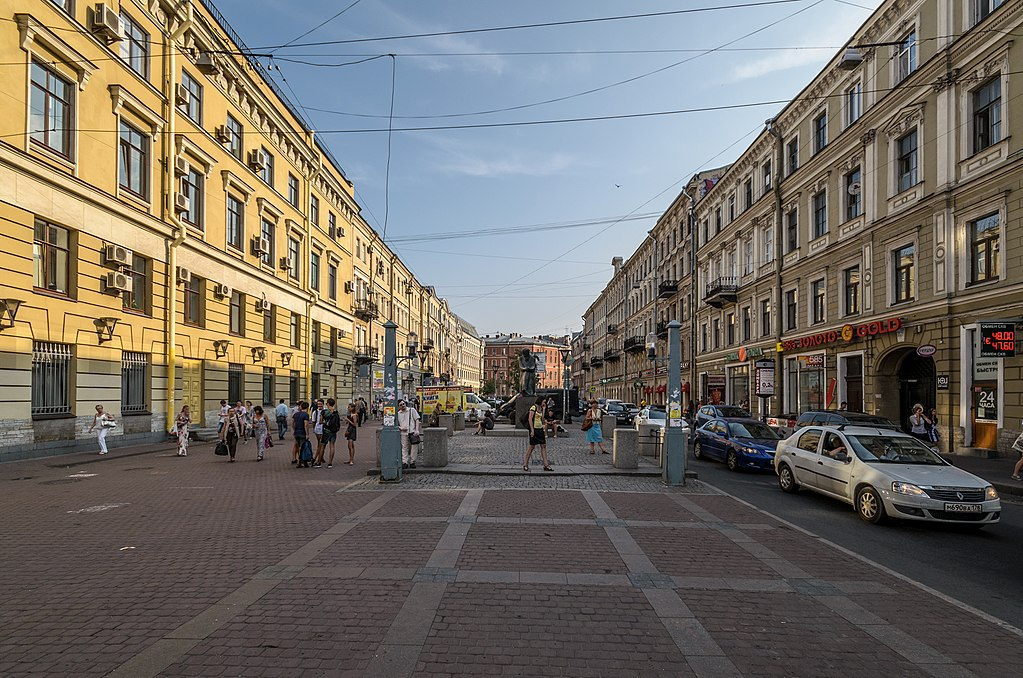 Большая Московская улица. Фото: Florstein   (WikiPhotoSpace)