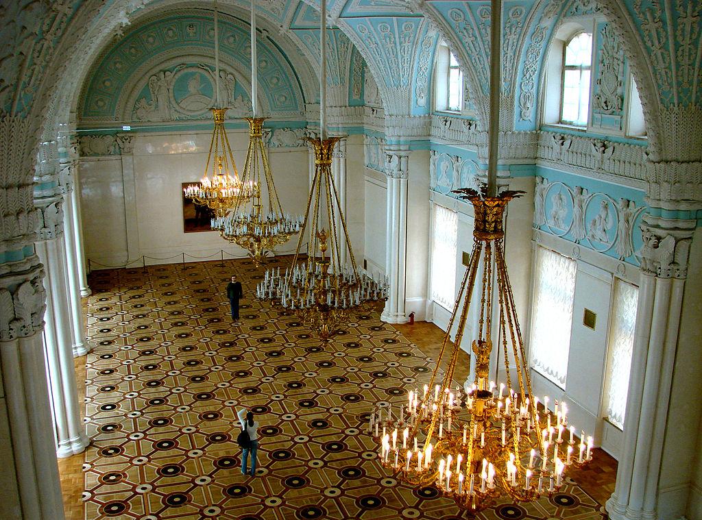 5. Зимний дворец, Александровский зал. Фото: Adam63