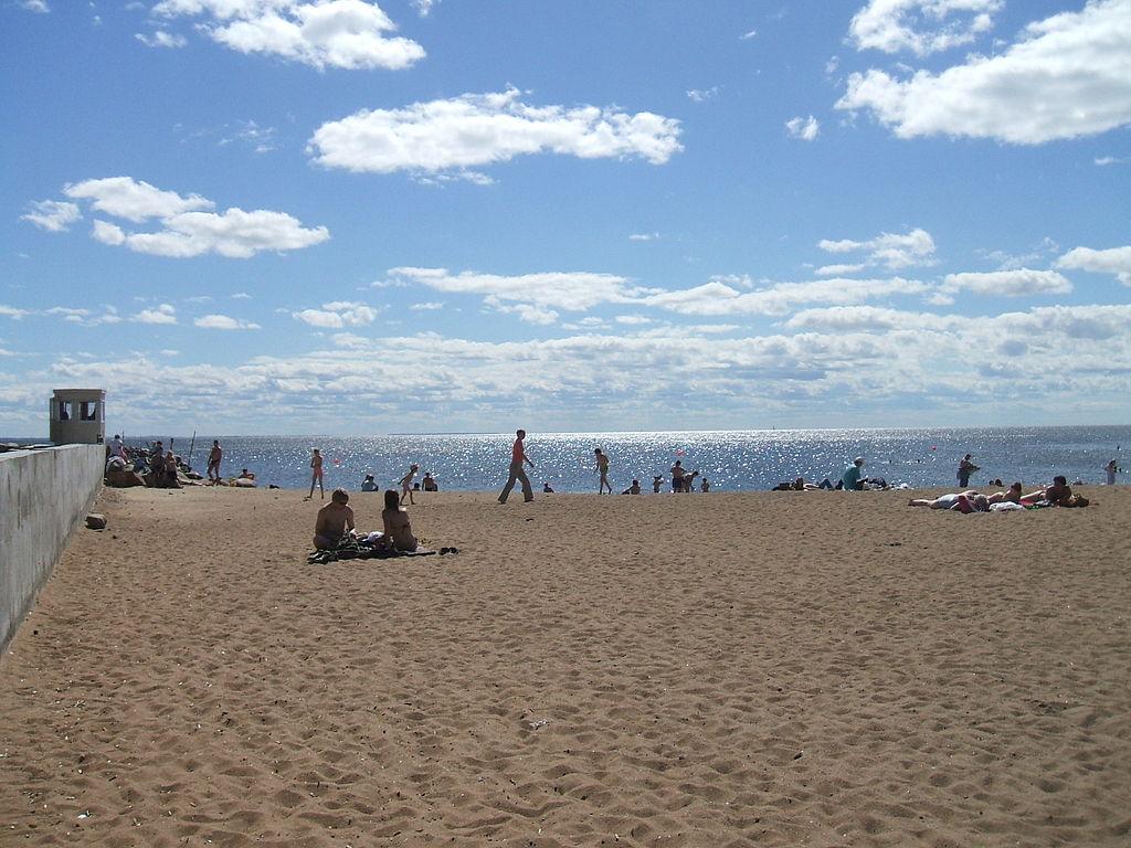 Золотой пляж. Фото: Пётр Иванов