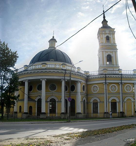 Вторая панарама-северный фасад Илия Пророк. Автор:  Anton iojnaiznanku, Wikimedia Commons