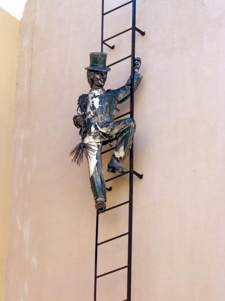 Памятник трубочисту - Санкт-Петербург. Фото: wikimapia.org