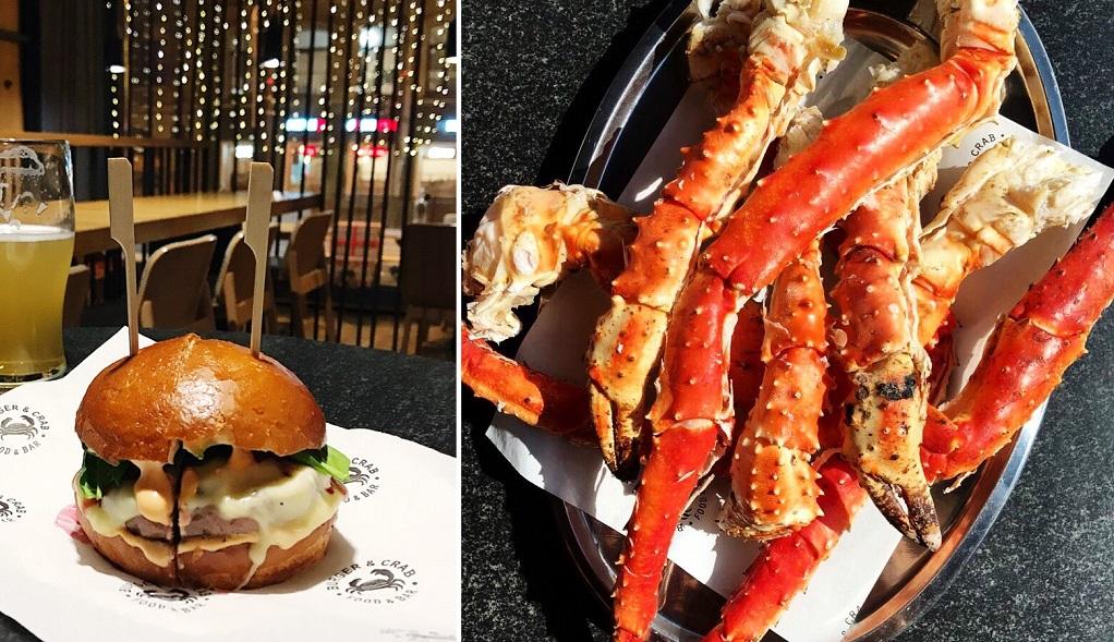 Burger & Crab