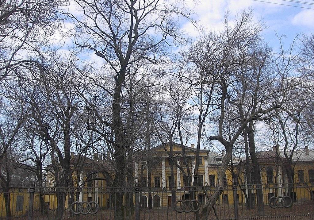 Дворец Бобринских со стороны сада. Фото: А. Разумов (Wikimedia Commons)