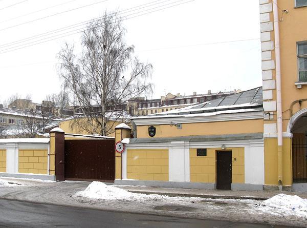 Бакунина пр., 14. Фото - Mary, 2009 г. (citywalls.ru)