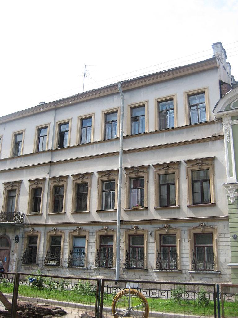 Особняк Щербатовой, Моховая, 5. Фото: Skydrinker (Wikimedia Commons)