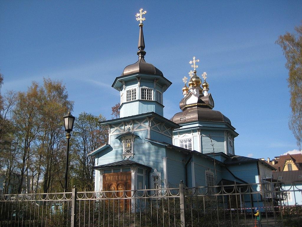 Церковь Дмитрия Солунского на 1-ой Никитской ул. Фото: Александров