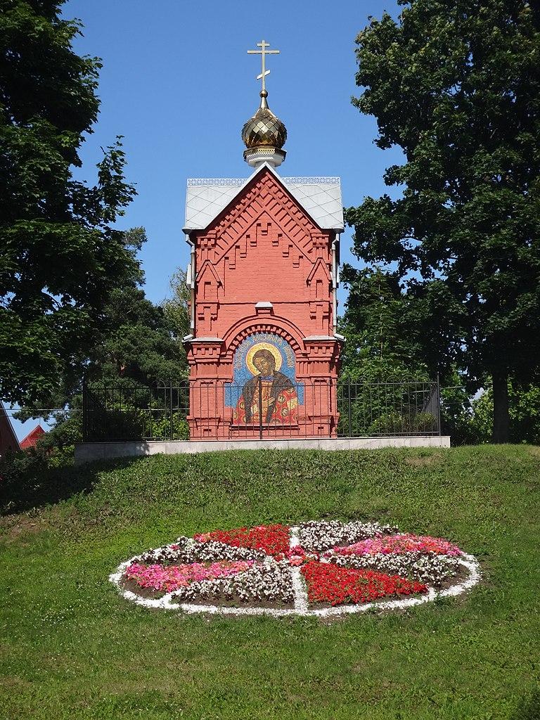 Часовня Александра Невского. Фото: Monoklon из русский Википедия
