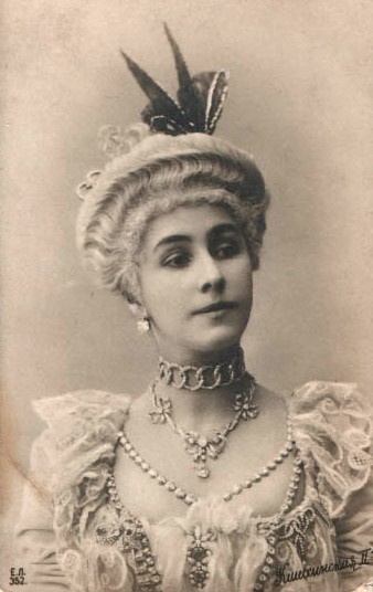 Матильда Кшесинская. Unknown photographer of the photography department of the Imperial Mariinsky Theatre. St. Petersburg, Russian Empire