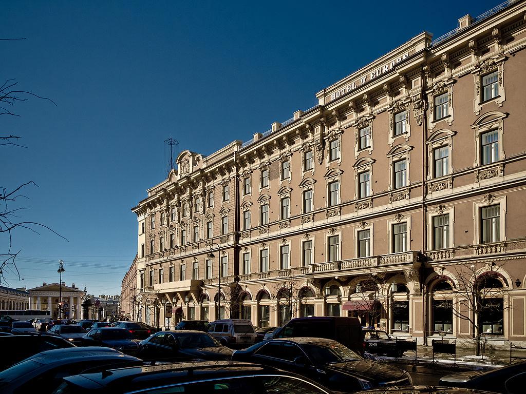 6. Гранд Отель Европа. Фото: Florstein