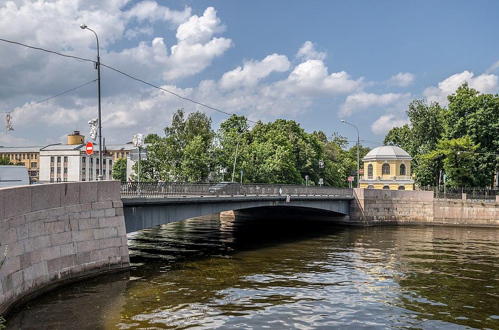Храповицкий мост в Санкт-Петербурге.Фото: Alex 'Florstein'