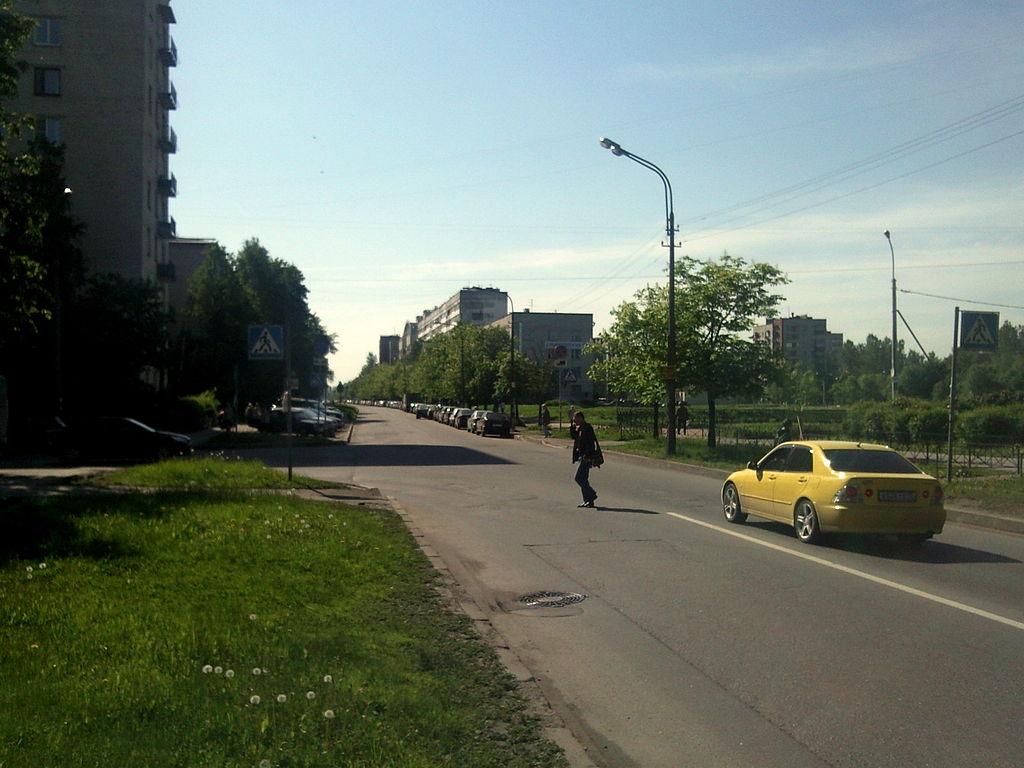 Улица Танкиста Хрустицкого. Фото: Ingvar-fed
