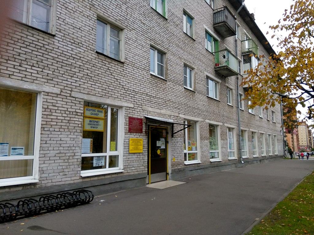 Библиотека семейного чтения города Ломоносова. Фото: Osen1972 (Wikimedia Commons)