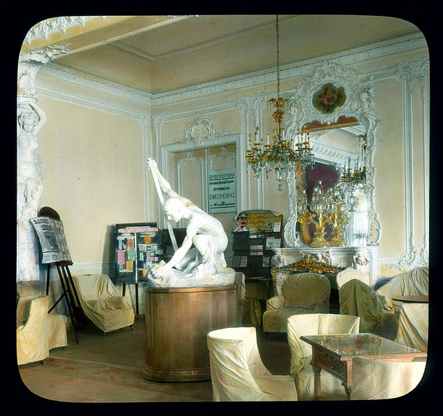 Елагин дворец в Санкт-Петербурге (интерьеры)