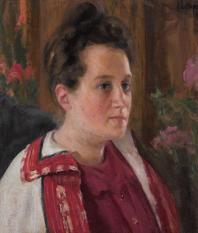 """Портрет: """"Юлия Ивановна Казарина"""", 1900 г. Фото: Wikimedia Commons"""