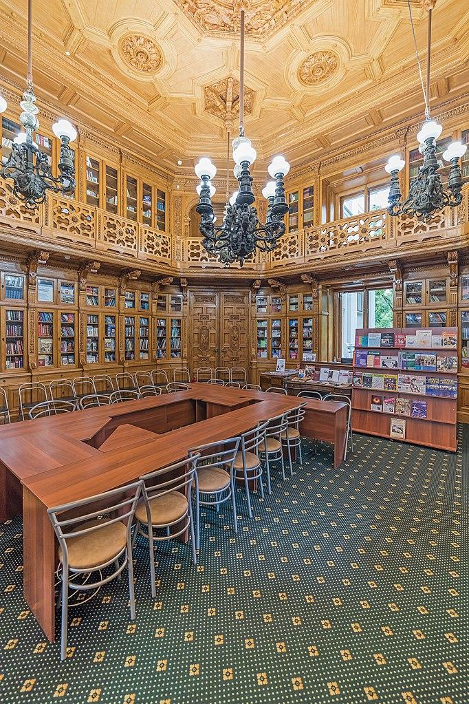 Библиотека. Фото: A.Savin (Wikimedia Commons · WikiPhotoSpace)