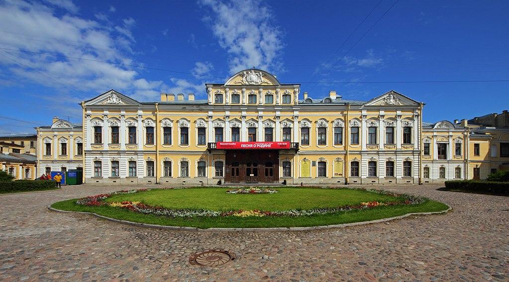 Дворец Шереметевых на Фонтанке. Фото: A.Savin (Wikimedia Commons · WikiPhotoSpace)