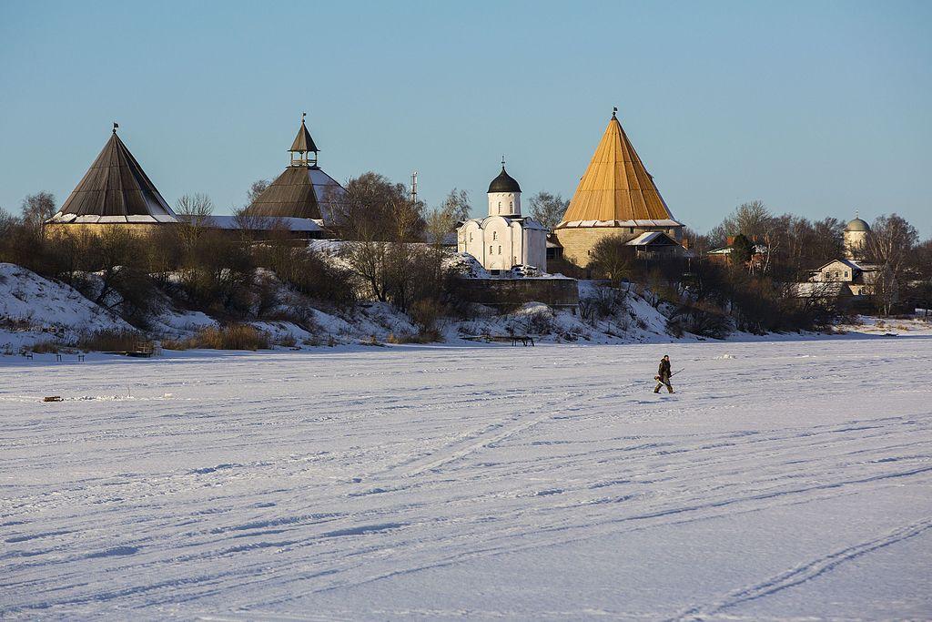"Крепость ""Старая Ладога!. Фото: Olga1969 (Wikimedia Commons)"