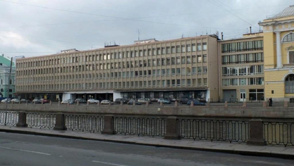 """""""Лениздат"""". Фото: miraru1 (wikimapia.org)"""
