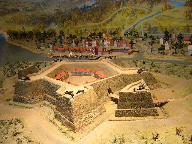 Шведская крепость, являвшаяся главным укреплением города Ниен