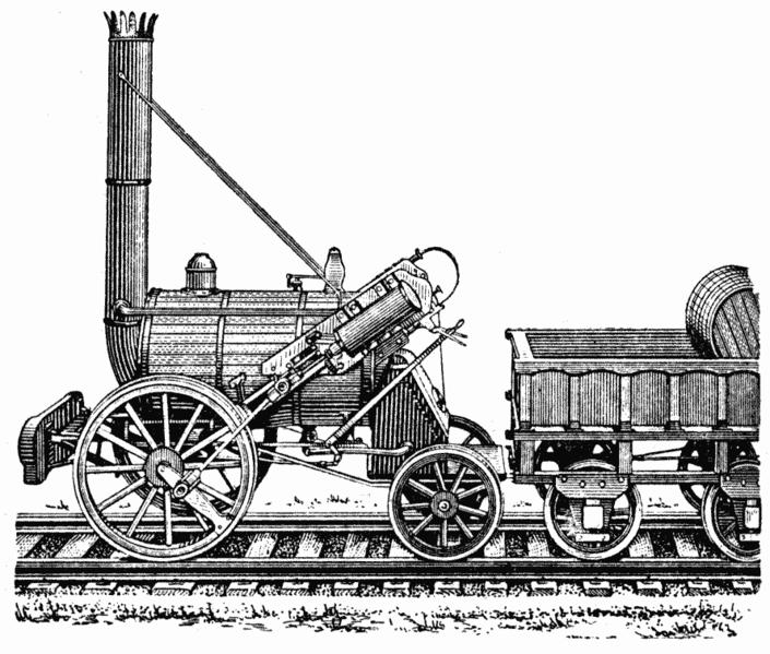 """Паровоз """"Ракета"""" Стефенсона. Фото: Wikimedia Commons"""