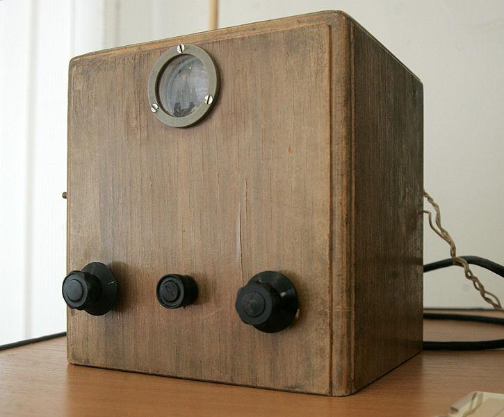 """Первый советский телевизор """"Б-2"""" для системы с механическим разложением. Экспозиция Музея Нижегородской радиолаборатории. Фото: Runner1616 (Wikimedia Commons)"""