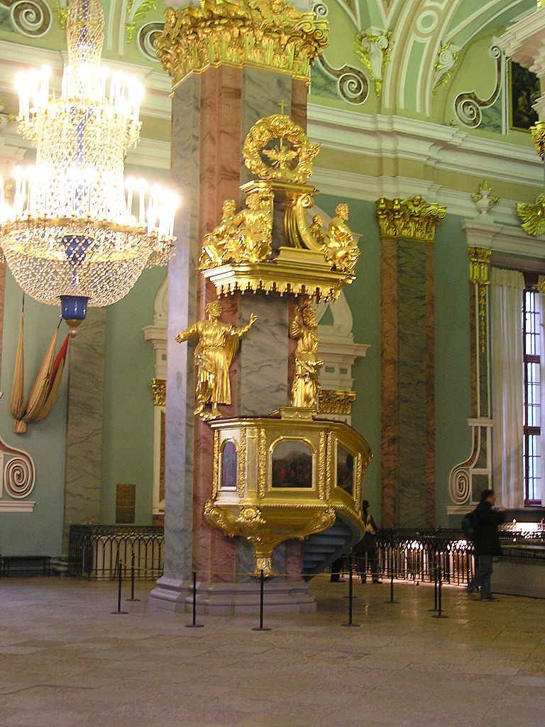 Санкт-Петербург. Петропавловский собор. Фото: Andrew Butko (Wikimedia Commons)