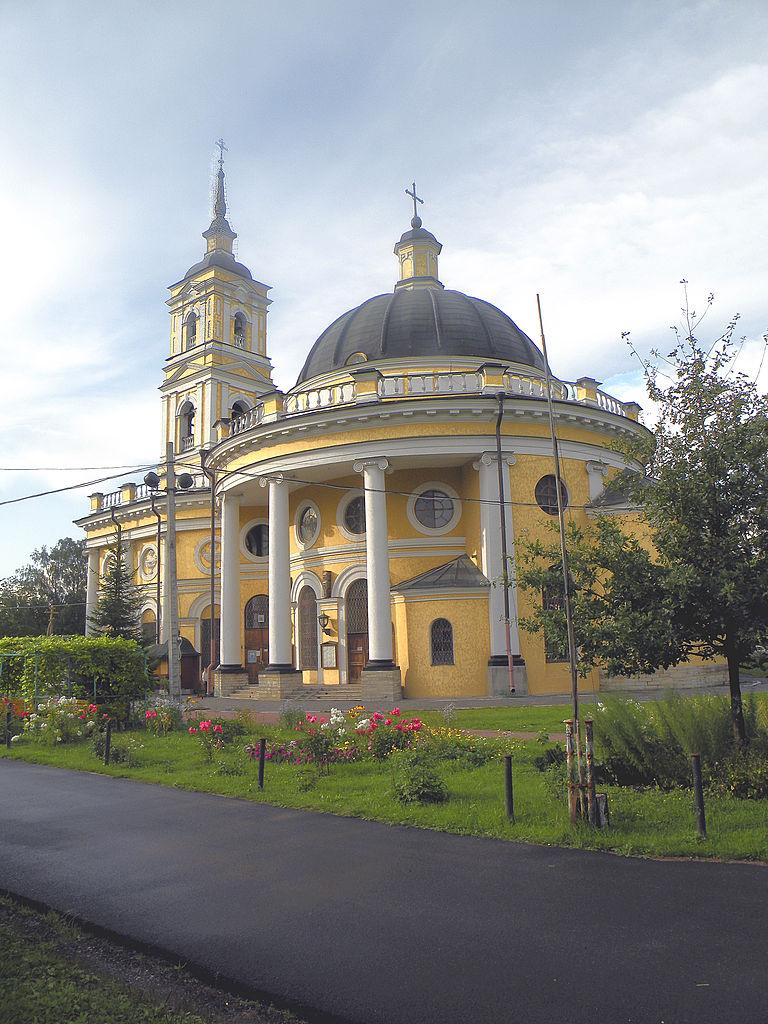 Храм Святого Пророка Ильи на Пороховых. Фото: Витольд Муратов