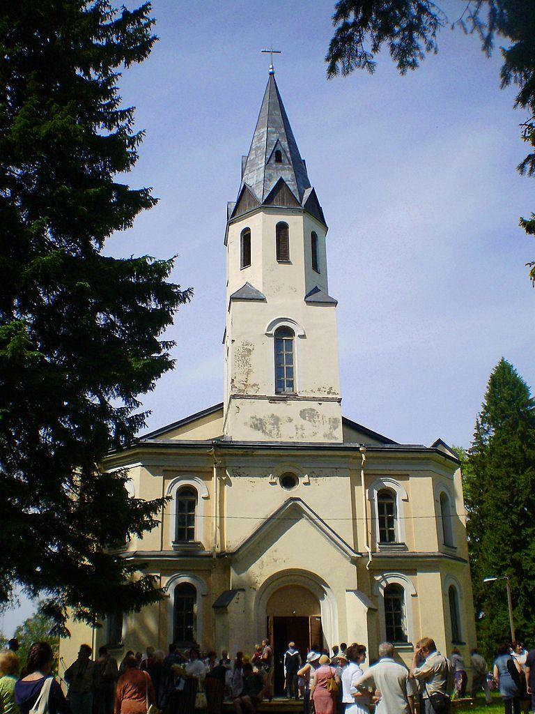 Кирха Св. Петра и Павла в Токсово. Фото: Valeriy10f