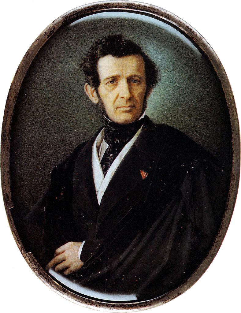 Портрет: А. И. Штакеншнейдер. Автор: Николай Михайлович Теребенев