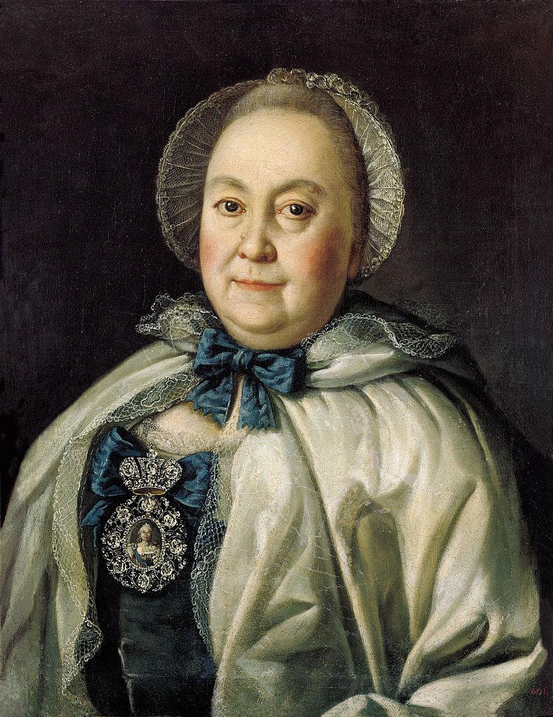 Портрет графини М. А. Румянцевой, 1764 г. Русский музей