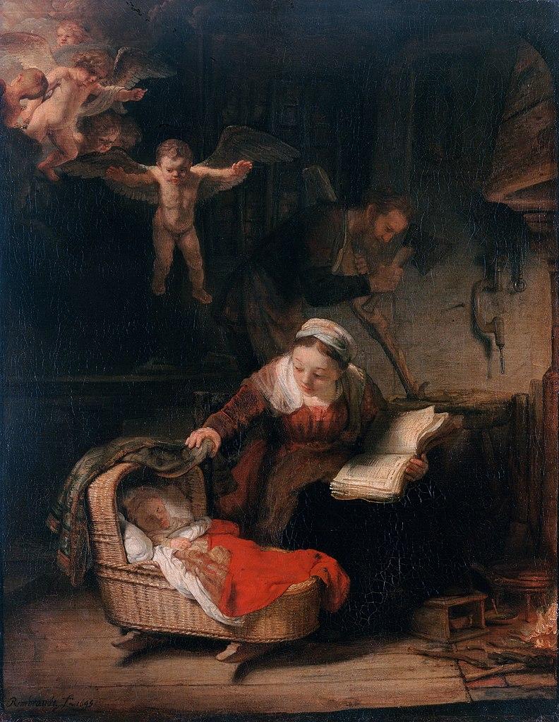"10. Рембрандт ""Святое семейство"". Фото: Jan Arkesteijn"