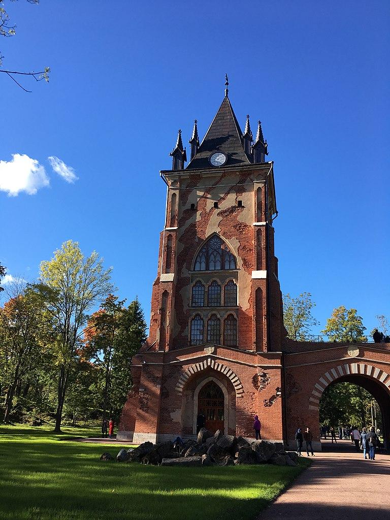 Павильон 'Шапель': Александровский парк, 29 сентября 2018 г. Фото: GalinaStepanova (Wikimedia Commons)