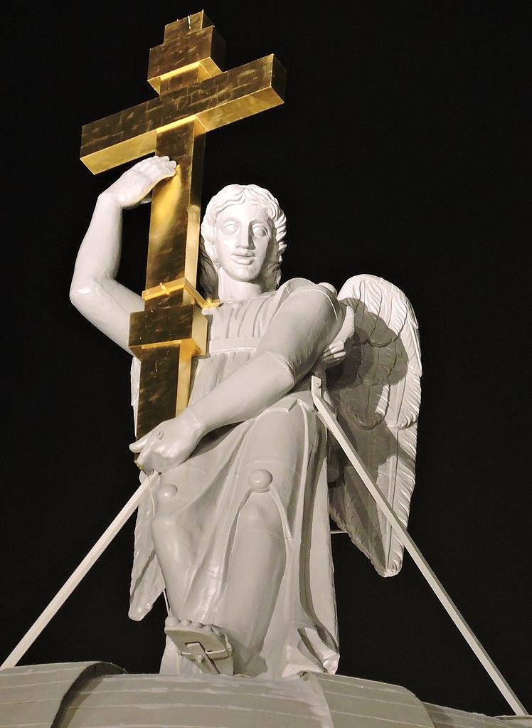 Ангелы костёла св. Автор фото: Екатерины. Monoklon