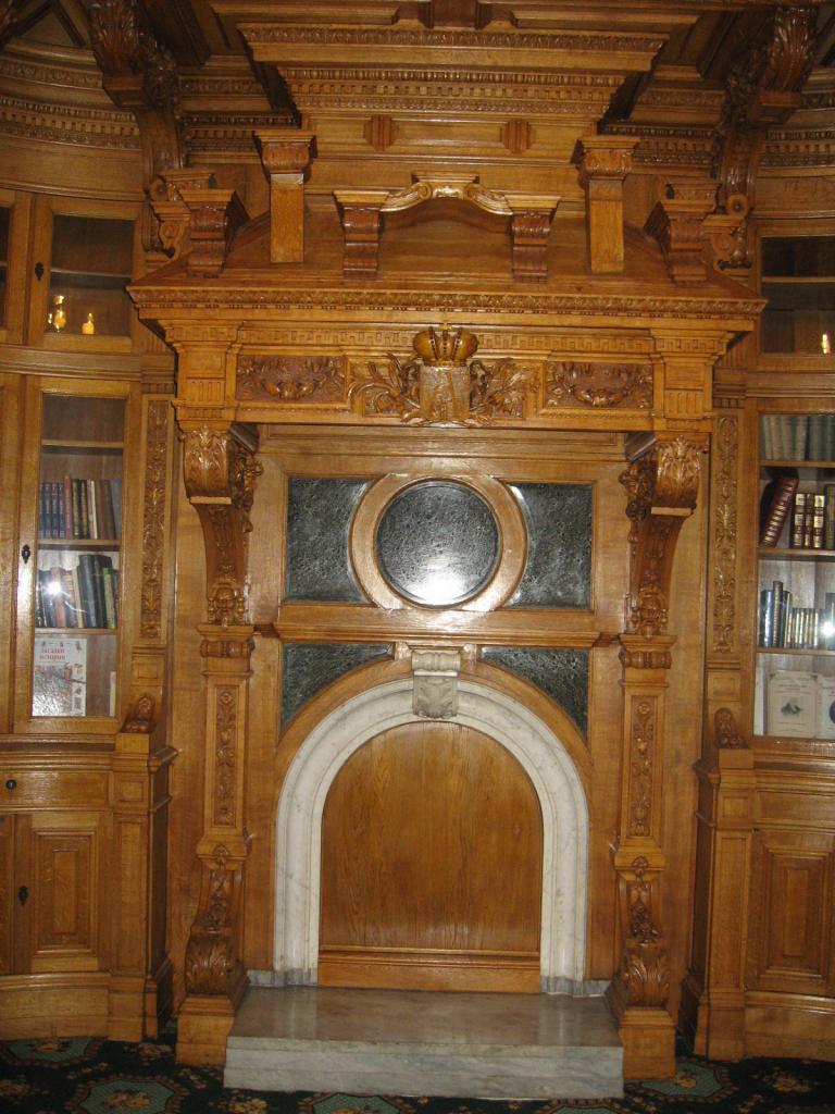 Печь и камин в Аничковом дворце
