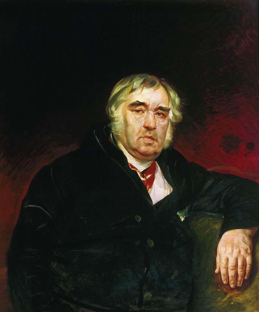 Портрет баснописца И. А.Крылова, 1839 г. Фото: Карл Павлович Брюллов