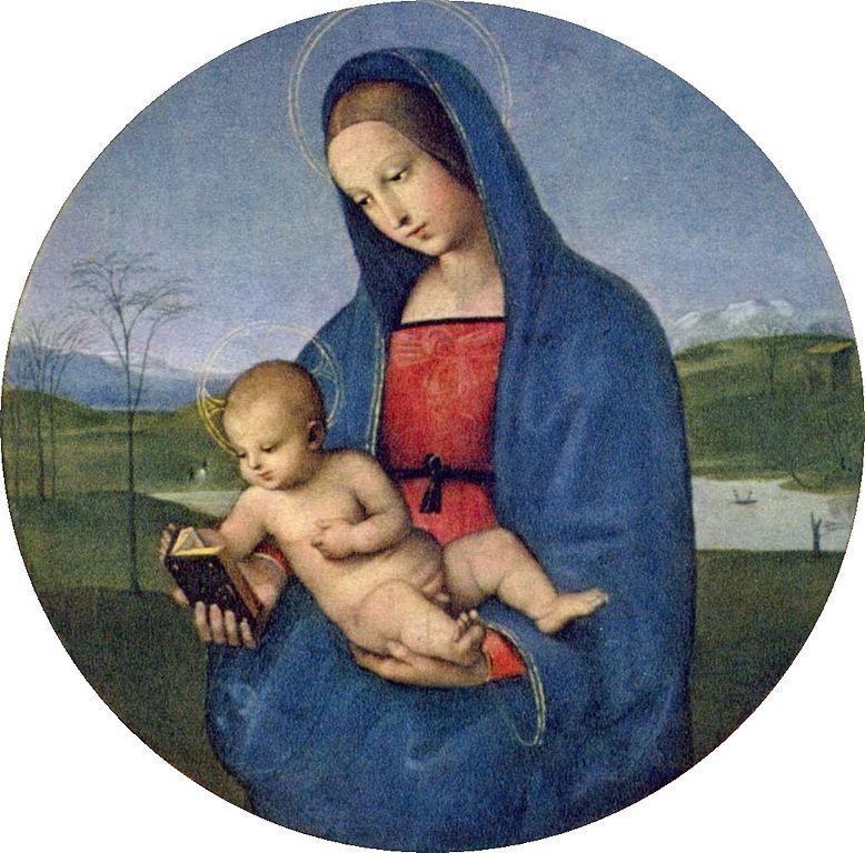 Мадонна с Младенцем, Мадонна Конестабиле. (Рафаэль)