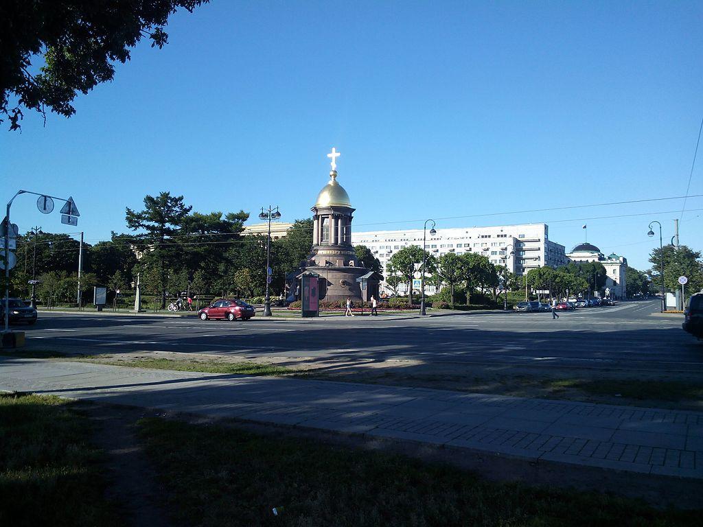 Троицкая площадь. Фото: Дмитрий Cкляренко