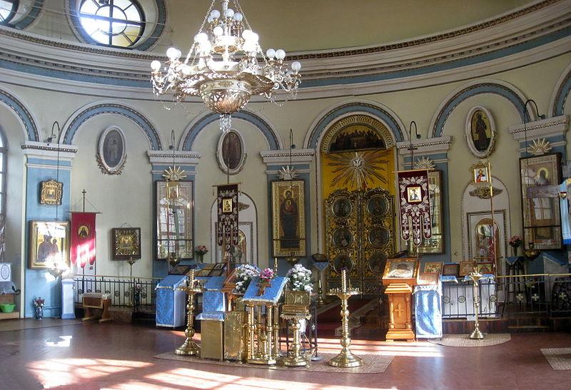 Алтарь, церковь Св.Илии Пророка. Автор: Anton iojnaiznanku, Wikimedia Commons